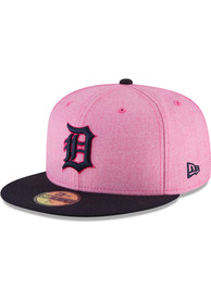 purchase cheap f3bee 178eb Detroit Tigers New Era Pink 2018 Mother s Day 59FIFTY Fitted Hat