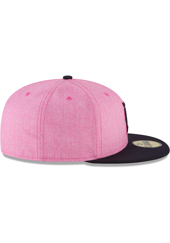 low priced f8709 0f478 ... uk switzerland new era detroit tigers mens pink 2018 mothers day  59fifty fitted hat image 6
