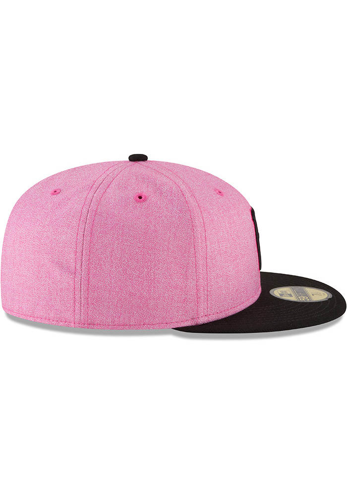 c016953be8 New Era Pittsburgh Pirates Mens Pink 2018 Mother s Day 59FIFTY Fitted Hat -  Image 6