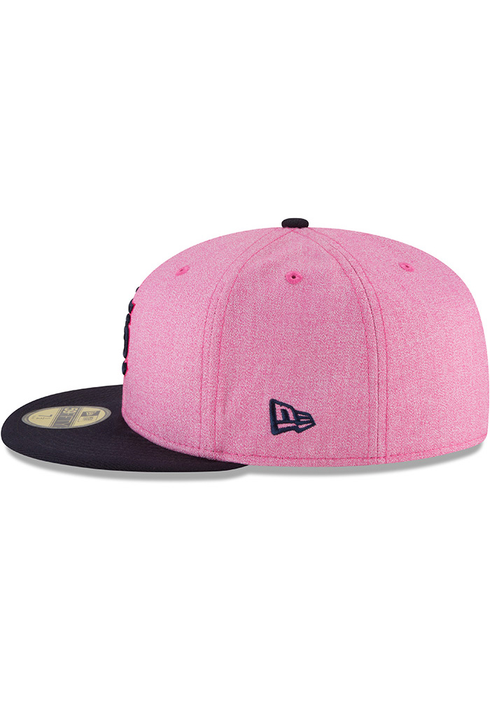 New Era St Louis Cardinals Mens Pink 2018 Mother's Day 59FIFTY Fitted Hat - Image 4