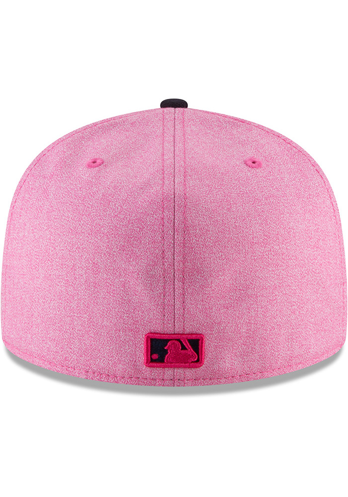 New Era St Louis Cardinals Mens Pink 2018 Mother's Day 59FIFTY Fitted Hat - Image 5