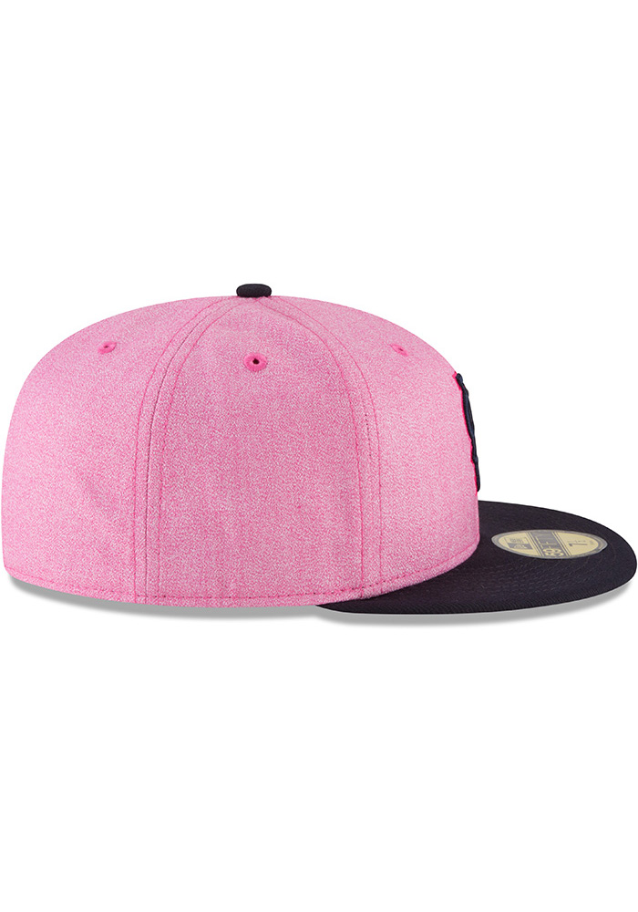New Era St Louis Cardinals Mens Pink 2018 Mother's Day 59FIFTY Fitted Hat - Image 6