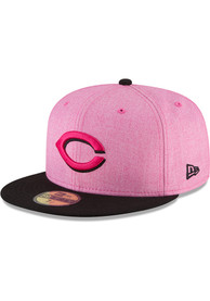 8fe583917 Cincinnati Reds New Era Pink 2018 Mother's Day 59FIFTY Fitted Hat