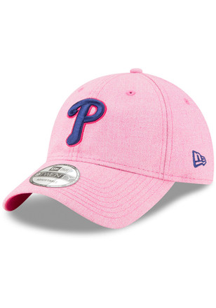 New Era Philadelphia Phillies Pink 2018 Mother s Day 9TWENTY Adjustable Hat cd9cc4faa528