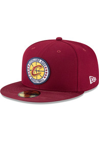 Cleveland Cavaliers New Era 2018 Tip Off 59FIFTY Fitted Hat - Maroon