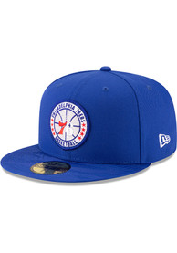 online store 86a91 ceeb0 Philadelphia 76ers New Era Blue 2018 Tip Off 59FIFTY Fitted Hat