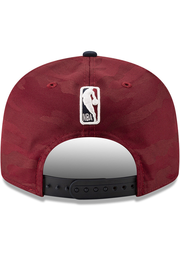 New Era Cleveland Cavaliers Maroon 2018 Tip Off 2T 9FIFTY Mens Snapback Hat - Image 5