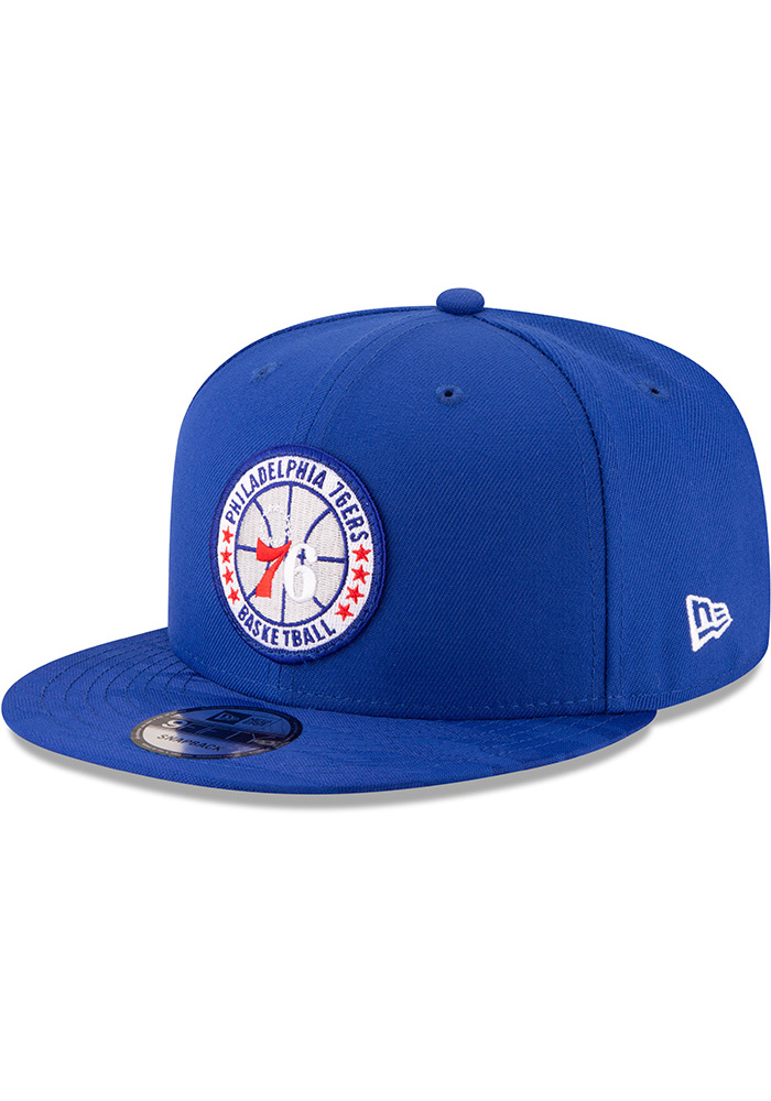 New Era Philadelphia 76ers Blue 2018 Tip Off 9FIFTY Snapback Hat 3e0ed75dc4e3