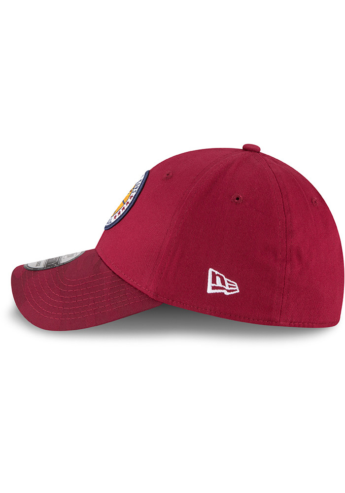 New Era Cleveland Cavaliers Mens Maroon 2018 Tip Off 39THIRTY Flex Hat - Image 4