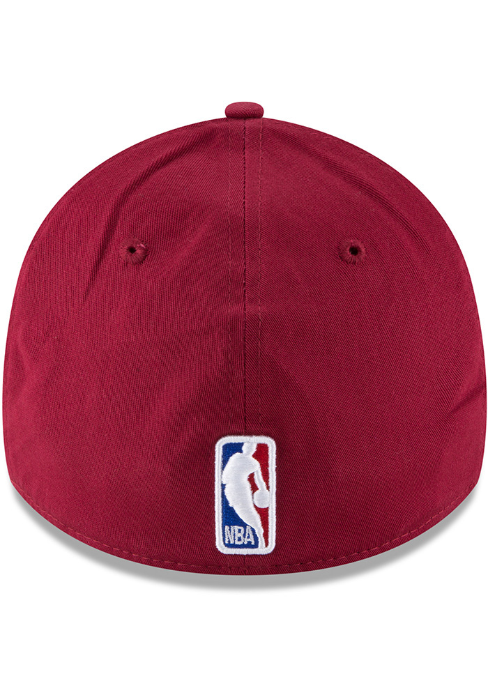 New Era Cleveland Cavaliers Mens Maroon 2018 Tip Off 39THIRTY Flex Hat - Image 5