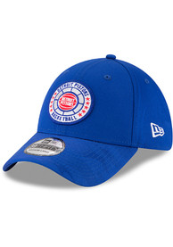 Detroit Pistons New Era 2018 Tip Off 39THIRTY Flex Hat - Blue