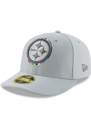 Pittsburgh Steelers New Era Grey 2018 Crucial Catch LP59FIFTY Fitted Hat fefcc7421