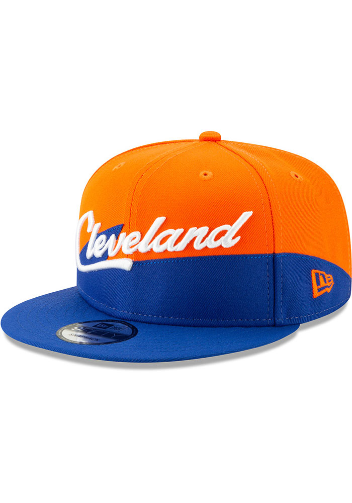 New Era Cleveland Cavaliers Maroon 2018 City Series 9FIFTY Mens Snapback Hat - Image 1