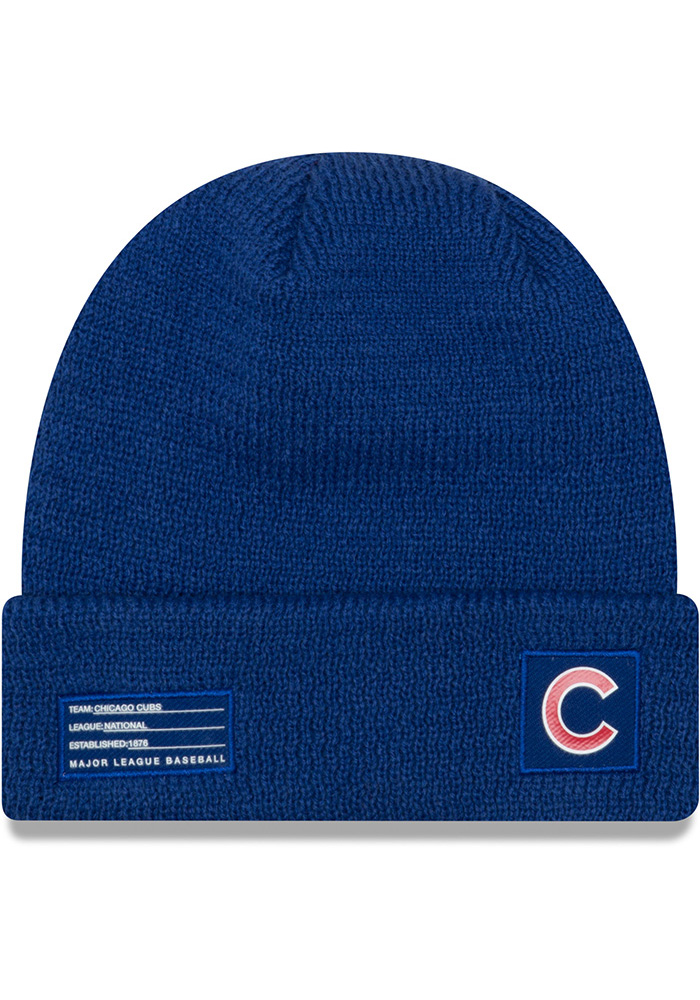 New Era Chicago Cubs Blue 2018 Junior Sport Youth Knit Hat - Image 2