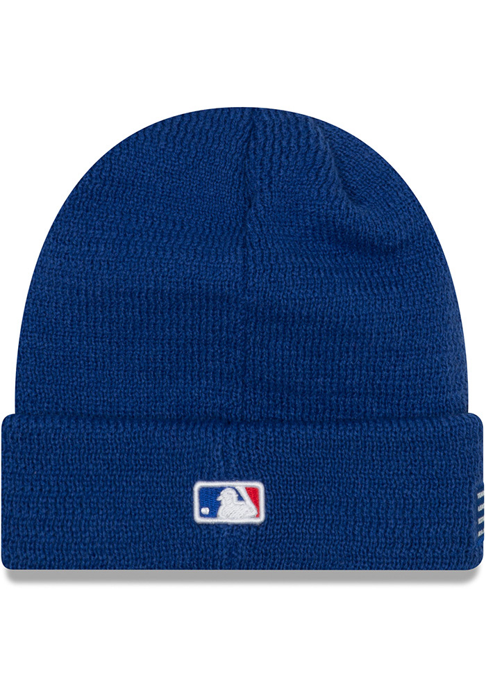 New Era Chicago Cubs Blue 2018 Junior Sport Youth Knit Hat - Image 3