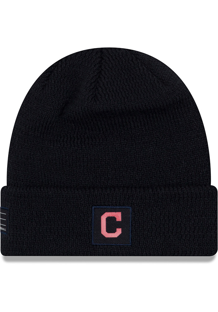 266dd5db302 ... wholesale new era cleveland indians navy blue 2018 junior sport youth  knit hat ce7e2 db310