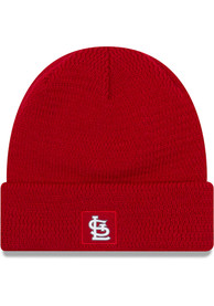 New Era St Louis Cardinals Red 2018 Junior Sport Youth Knit Hat