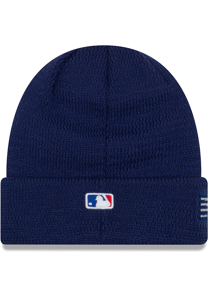 New Era Texas Rangers Blue 2018 Junior Sport Youth Knit Hat - Image 3