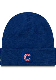New Era Chicago Cubs Blue 2018 Sport Knit Hat