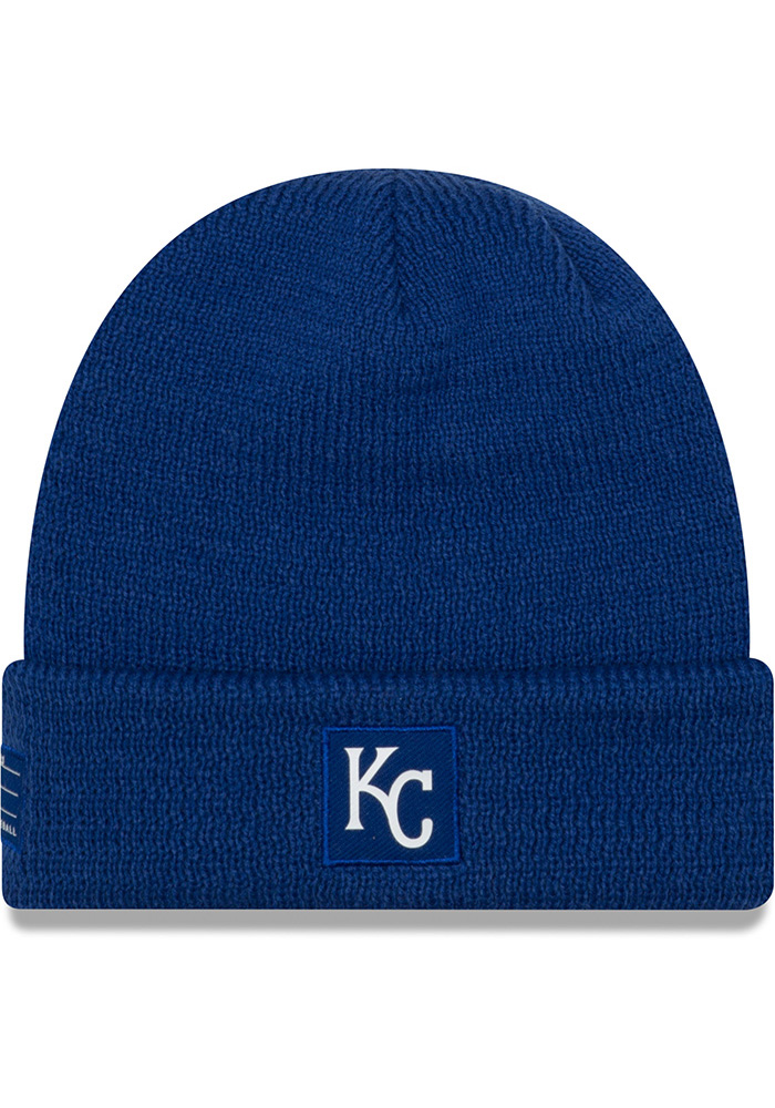 Kansas City Royals New Era 2018 Sport Knit - Blue