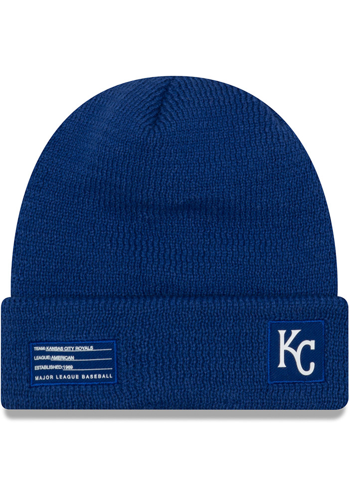 New Era Kansas City Royals Blue 2018 Sport Mens Knit Hat - Image 2