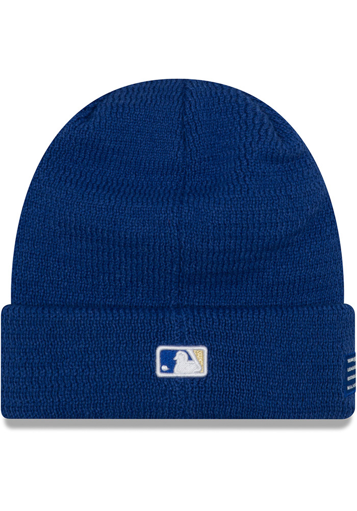 New Era Kansas City Royals Blue 2018 Sport Mens Knit Hat - Image 3