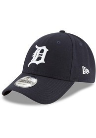 sale retailer 9a853 4f2f2 New Era Detroit Tigers 2018 The League Home 9FORTY Adjustable Hat - Navy  Blue