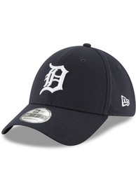 Detroit Tigers New Era 2018 Team Classic Home 39THIRTY Flex Hat - Navy Blue