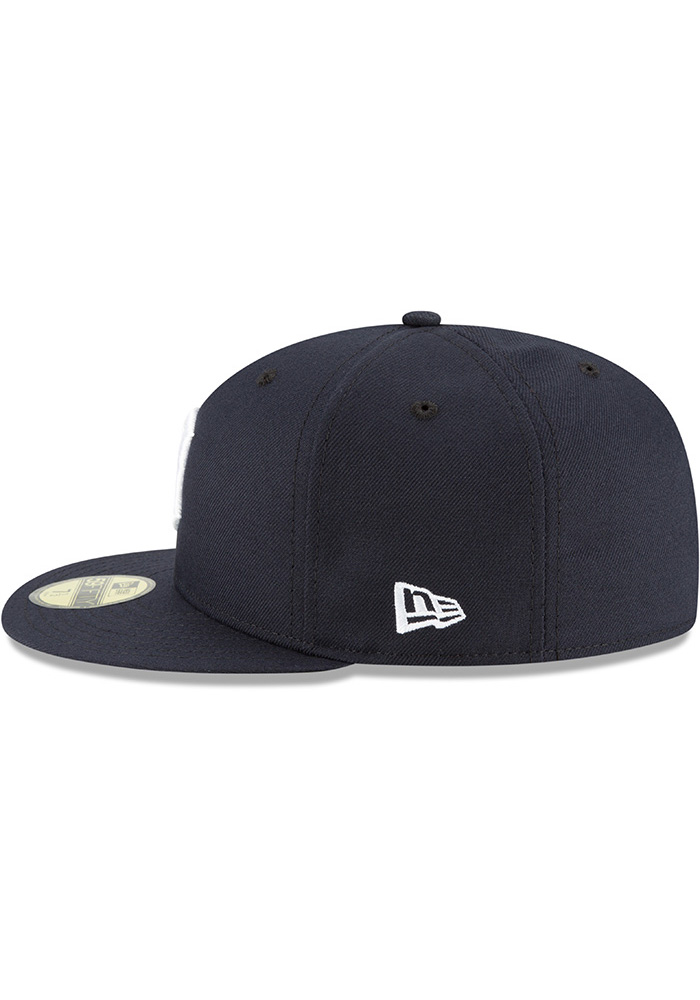 New Era Detroit Tigers Mens Navy Blue 2018 AC Home 59FIFTY Fitted Hat - Image 4