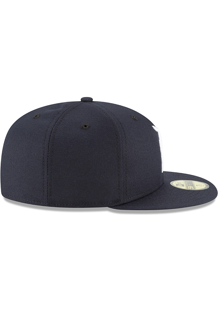 New Era Detroit Tigers Mens Navy Blue 2018 AC Home 59FIFTY Fitted Hat - Image 6