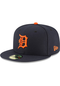 Detroit Tigers New Era 2018 AC Road 59FIFTY Fitted Hat - Navy Blue