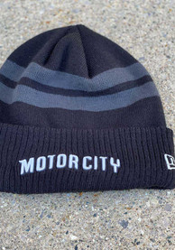 New Era Detroit Pistons Blue 2018 City Series Knit Hat