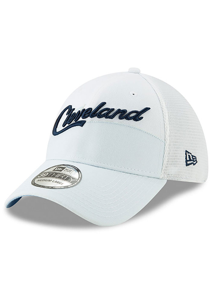 New Era Cleveland Cavaliers Mens Maroon 2018 Christmas Day 39THIRTY Flex Hat - Image 1