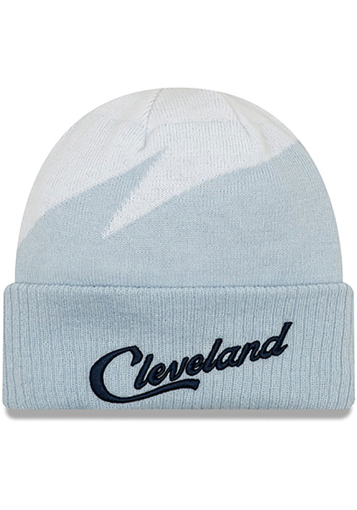 New Era Cleveland Cavaliers Maroon 2018 Christmas Day Mens Knit Hat - Image 1