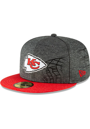 Kansas City Chiefs New Era Grey KC Chiefs NFL18 Mexico Game 59FIFTY Fitted  Hat b09f85bc2
