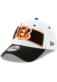 new styles b7f90 9bc74 New Era Cincinnati Bengals White 2018 Thanksgiving 39THIRTY Flex Hat