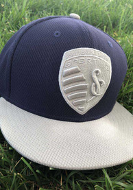 Sporting Kansas City New Era 2T 59FIFTY Fitted Hat - Navy Blue
