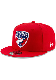 New Era FC Dallas Red Basic 9FIFTY Snapback Hat