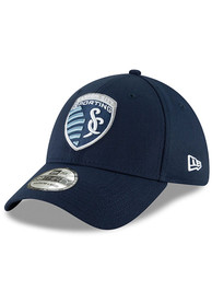 Sporting Kansas City New Era Basic 39THIRTY Flex Hat - Navy Blue