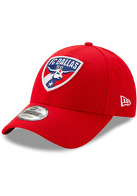 New Era FC Dallas Basic 9FORTY Adjustable Hat - Red