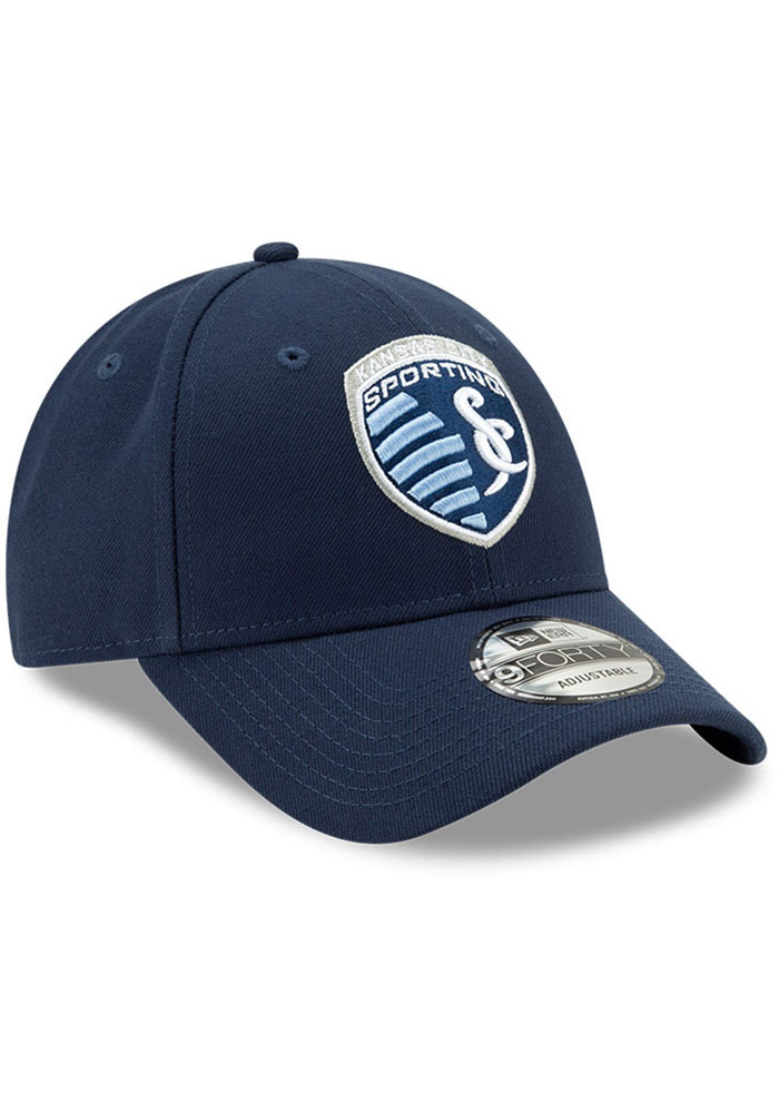 New Era Sporting Kansas City Basic 9FORTY Adjustable Hat - Navy Blue - Image 2