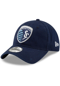 Sporting Kansas City New Era Basic 9TWENTY Adjustable Hat - Navy Blue
