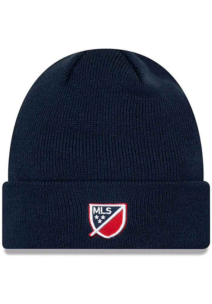 New Era Chicago Fire Navy Blue Basic Cuff Mens Knit Hat - Image 2
