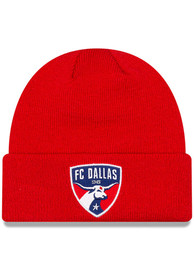 New Era FC Dallas Red Basic Cuff Knit Hat