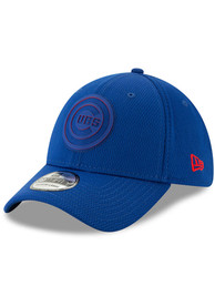 New Era Chicago Cubs Blue 2019 Clubhouse JR 39THIRTY Youth Flex Hat