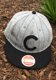 New Era Chicago Cubs Grey Heritage Series Authentics 1907 Retro-Crown 9FIFTY Snapback Hat