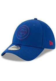 New Era Chicago Cubs Blue 2019 Clubhouse 39THIRTY Flex Hat