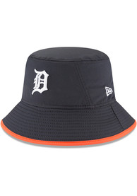 New Era Detroit Tigers Navy Blue 2019 Clubhouse JR Youth Bucket Hat