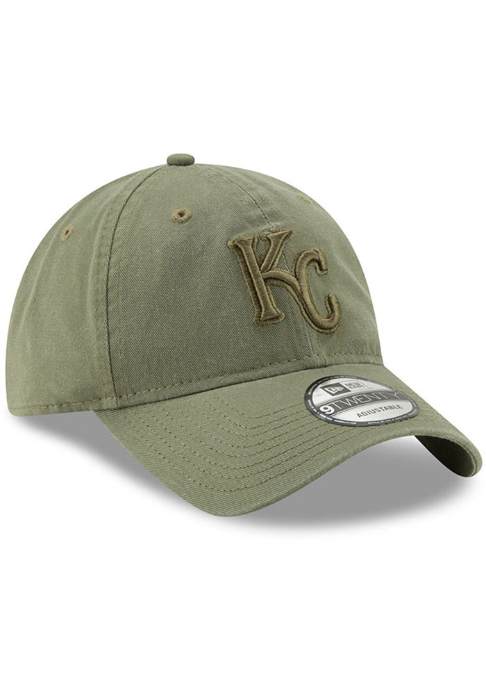 New Era Kansas City Royals Tonal Core Classic 9TWENTY Adjustable Hat - Green - Image 2
