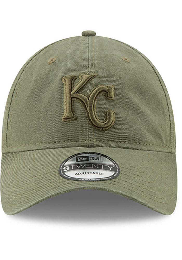 New Era Kansas City Royals Tonal Core Classic 9TWENTY Adjustable Hat - Green - Image 3
